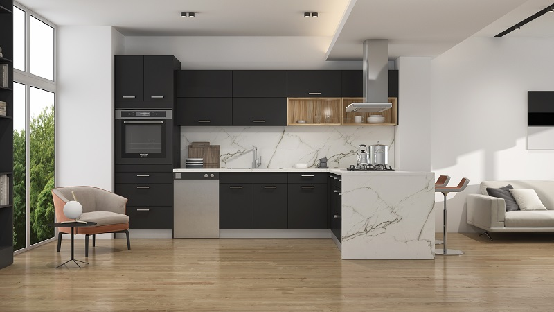 Goldenhome Cabinetry Frameless Reinvented    Elements Of Modern Kitchen  Cabinetry